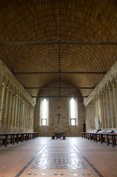 Mont Saint Michel Refectory -  Church photo