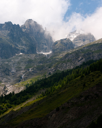 Mont Blanc  - Graian Alps Mountain photo
