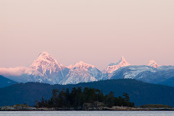 Coast Moutnains II - Cortes Island Mountain photo