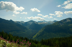Summer in the Coast Mountains - Pacific Ranges Mountain photo