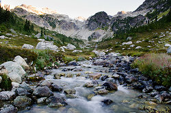 Alpine creek II - Brandywine Meadows Mountain photo