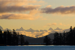 Coast Range - Quadra Island Mountain photo