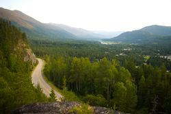 Highway 19 - Slocan Valley Mountain Road photo