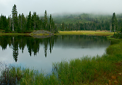Paradice Meadows' Lake ~ Alipine Lake picture from Paradise Meadows Canada.