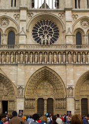 Notre Dame de Paris ~ Church picture from Paris France.