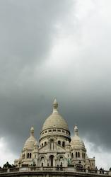 Basilique du Sacr�-Cœur ~ Church picture from Paris France.
