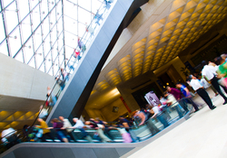 Louvre Escalator -  Escalator photo