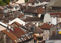 Roofs of Plombi�res-les-Bains #1 -   photo