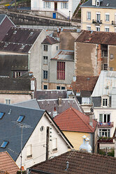 Plombiers rooftops #1 ~ Architecture  picture from Plombieres-les-Bains France.