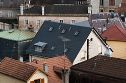 Plombieres Rooftops No. 3 ~ Architecture  picture from Plombieres-les-Bains France.
