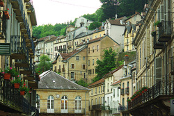 Plombieres-Les-Bains -  French town photo