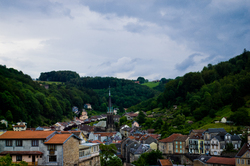 Plombiers Les-Bains ~ Mountain Village picture from Plombiers France.
