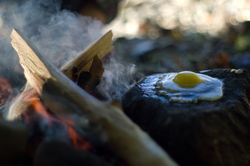 Advanced Egg Cooking Techniques - Cortes Island Primatinve Living photo