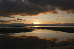 Cortes Island Reflection photo