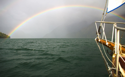 Rainbow - Knight Inlet Sailing photo
