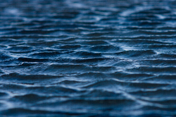 Ripples Blue ~ Reflection  picture from Salish Sea Canada.