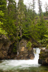 Springer Creek ~ Water Falll picture from Slocan Valley Canada.