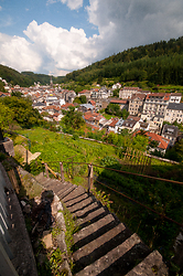 Stairs into Plombieres - Plombieres-les-Bains Stairs photo