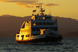 MV Tenaka ~ Ferry picture from Sutil Channel Canada.