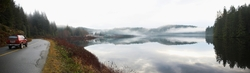 Gunflint Lake Panorama - Cortes Island Travel photo