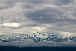 Mountain picture from Vancouver Island Canada.