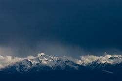 Mountain Moods ~ Mountain picture from Vancouver Island Canada.