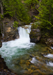 Springer Creek - Slocan Valley Waterfall photo