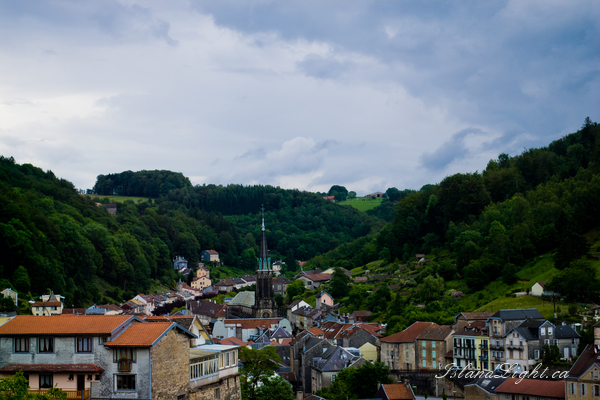 Cityscape photo from  Plombiers,  France.