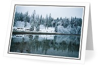Winter Shorline - Landscape photo from Smelt Bay Cortes Island British Columbia, Canada
