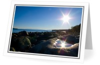 Sun II - Landscape photo from  Cortes Island BC, Canada