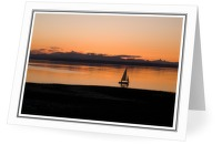 Light Airs - Sailing photo from Smelt Bay Cortes Island BC, Canada
