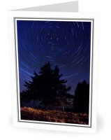 North Star - Star photo from Smelt Bay Cortes Island BC, Canada