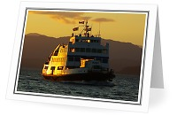 MV Tenaka - Ferry photo from  Sutil Channel BC, Canada