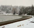 Winter at Smelt Bay - Landscape  photo from Smelt Bay Cortes Island British Columbia, Canada