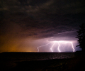 Cortes Island Lightening photo