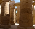 Karnak Temple Pillars - Egyptian Temple photo from  Karnak Egypt