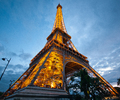 Eiffel Tower at Dusk - Architecture  photo from  Paris France