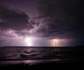 Quadra Island Lightening photo