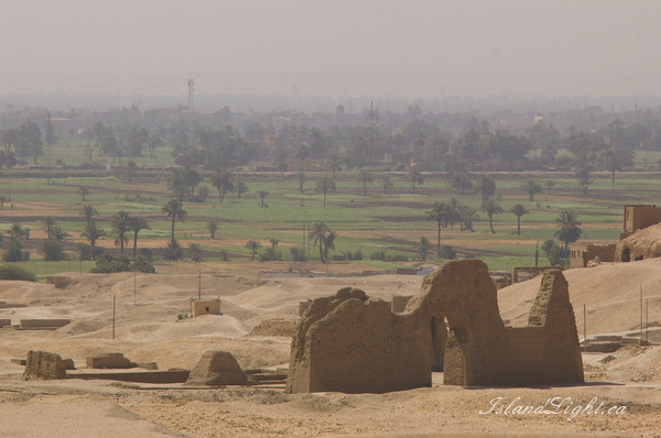 Architecture photo from Deir el Bahari Valley of the Kings,  Egypt.