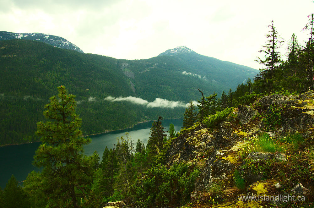 Landscape  photo from  Slocan Valley, British Columbia Canada.