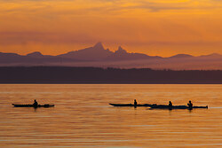 Evening Paddle - Cortes Island Kayak photo