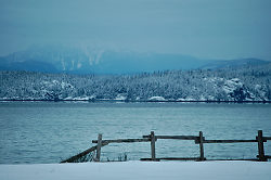 The End of the Fence - Cortes Island  photo