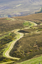Country Road - Scotland  photo