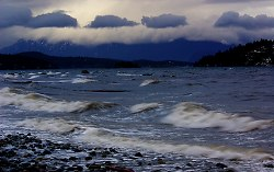 A South Easter - Cortes Island Ocean photo