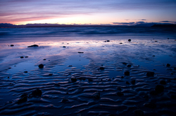 Sand in Blue - Cortes Island  photo