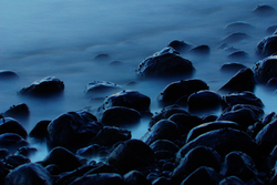 Blue on Blue - Cortes Island Shoreline photo