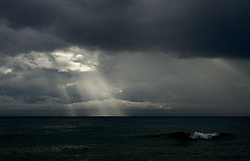 Illuminated  - Salish Sea Sunbeam photo